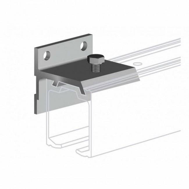 klamra ścienna do prowadnicy H2, dla drzwi do 45 mm