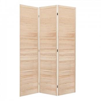 Parawan drewniany - SOSNA